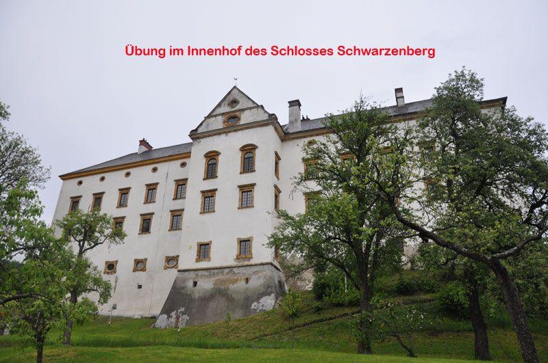 Übung Schloss Schwarzenberg